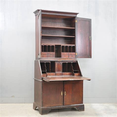 bureau bookcase oak bureau bookcase de grande antique furniture