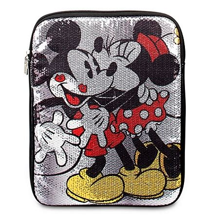 disney tablet case sequined minnie mouse  mickey mouse