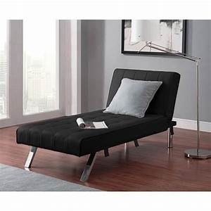 Convertible Futon Chaise Lounger Sofa Bed Sleeper Couch
