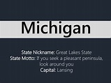 State Nickname: Great Lakes State