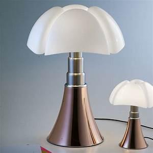 Lampe à Poser Design : lampe poser pipistrello variateur led cuivre h86cm martinelli luce luminaires nedgis ~ Teatrodelosmanantiales.com Idées de Décoration