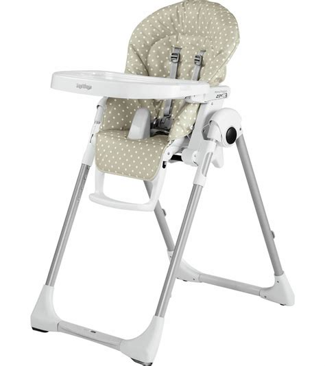 chaise peg perego prima pappa peg perego prima pappa zero 3 high chair baby dot beige
