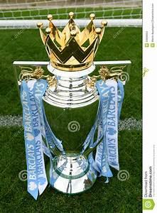 Barclays English Premier League Football Trophy Editorial ...