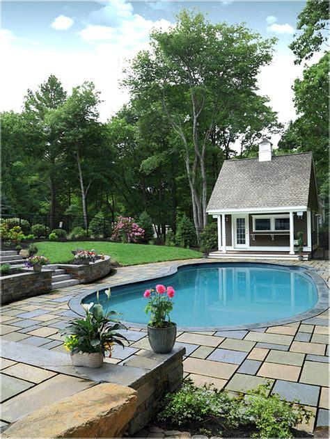 desain rumah minimalis  kolam renang  taman