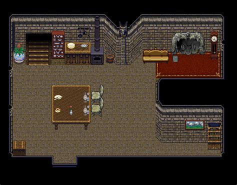 stone home interior tileset opengameartorg