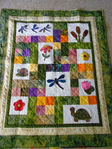 pattern  baby quilt child throw quilt  pixieharmony