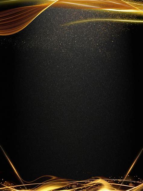 big air  black gold lights background cartao de