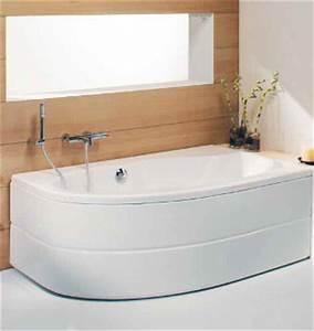 Baignoire D Angle Asymétrique : baignoire d 39 angle dune asym trique 160x90 version gauche ~ Premium-room.com Idées de Décoration