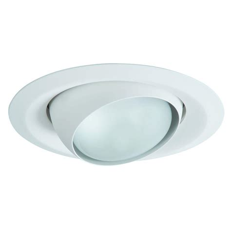 recessed lighting eyeball replacement halo e26 series 6 in white recessed lighting adjustable