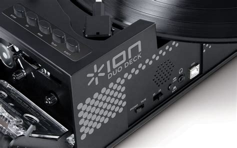 turntable ion usb audio deck