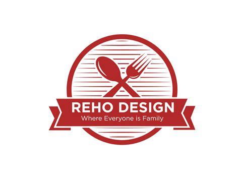 kitchen logo  reho design  dribbble
