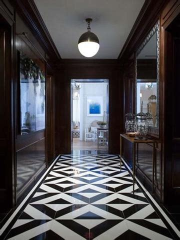 10 ideas of black and white hallways and entries as a good