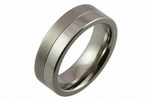 Mens titanium wedding rings bbw mom tube for Titanium wedding ring for men