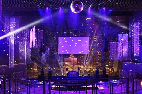 disco ball floor l like the reception the after party was fairly modern in