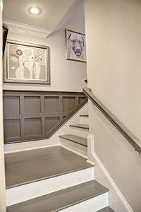 17 best ideas about painted stairs on pinterest paint for Best brand of paint for kitchen cabinets with wall art for staircase wall
