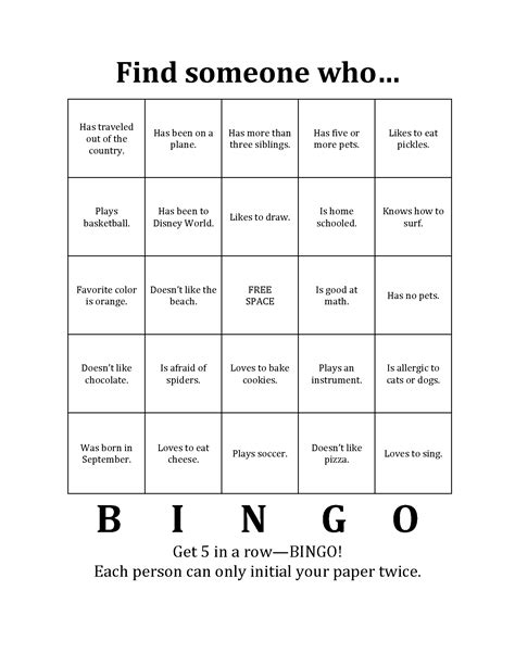 icebreaker bingo template adventures in children s ministry stories told lessons learned moments loved