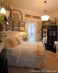 Vintage Farmhouse Bedroom