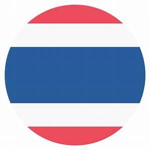 Thailand Flag Vector Emoji Icon | Free Download Vector ...