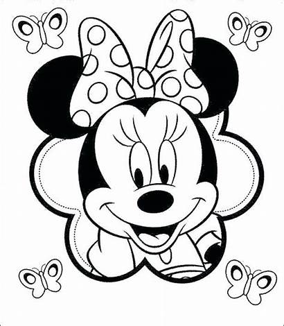 Mickey Coloring Pages Minnie Mouse Kissing Getcolorings
