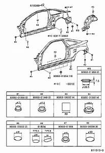 Toyota Celica Wheel Housing Side Panel  Right   Panel