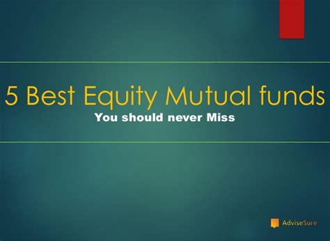 equity mutual fund  invest