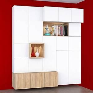 Dressing Leroy Merlin Modulable : meuble de rangement spaceo home dressing leroy merlin ~ Zukunftsfamilie.com Idées de Décoration