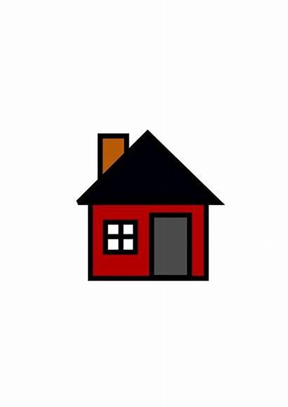 Clipart Cartoon Clip Houses Graphics Homes Cliparts