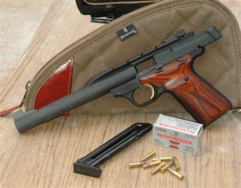 Gun Review Browning Buck Mark 22 Rimfire  Gun Digest