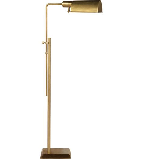 Ikea Barometer Floorreading Lamp Nickel Plated Floor Lamp