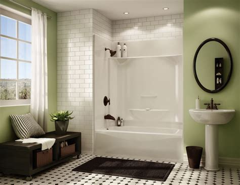 Tub Shower Combo One by Kohler Sterling 1 Pc Tub Shower Search Bathroom