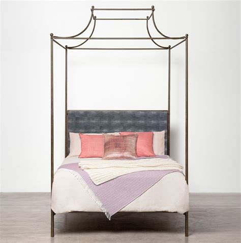 Bed Bath Metal Double Wrought Iron Frames For Vintage