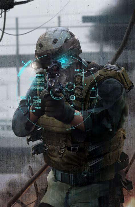 Future Soldier On Pinterest Cyborgs Cyberpunk And Sci Fi