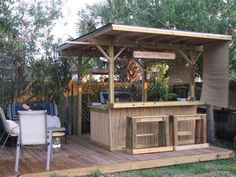 Backyard Tiki Bar by Tiki Bar Tiki Bars Outdoor Kitchen Bars Outdoor Tiki