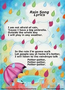 Rain Song Lyrics For Esl Children Kids Songs Teach