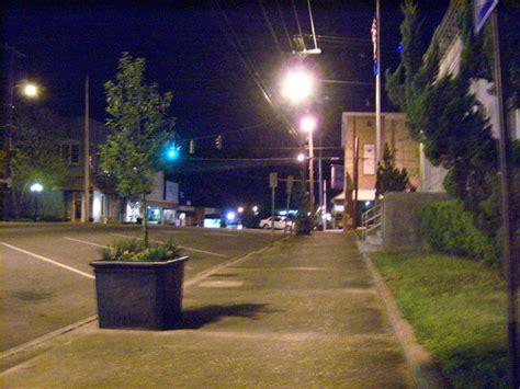 ruston la downtown  night photo picture image