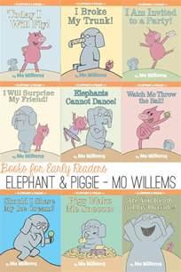 MO Willems Elephant and Piggie Books