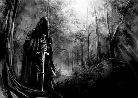 evil sword dark nazgul artwork fantasy art  lord