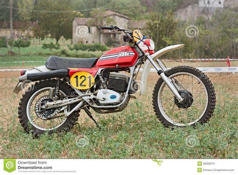 Cross Motorcycle Stock Image