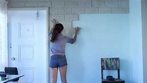 Painting Faux Stone Wall Panels Interior Color Decor Ideas