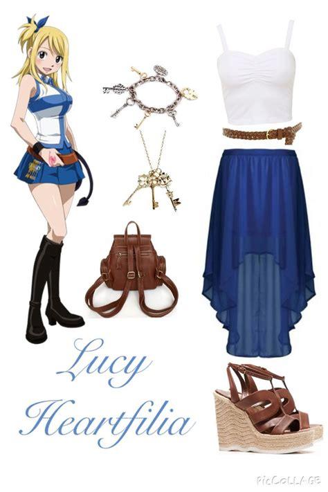 Fairy Tail Inspired Outfits u2661 Lucy Heartfilia | Outfits | Pinterest