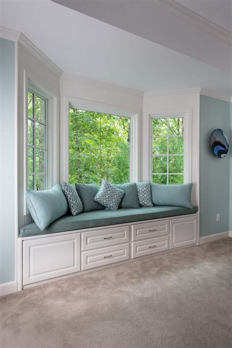 Bedroom Design Ideas With Bay Windows by Bay Window Bedroom Ideas Scandinavian With Storage