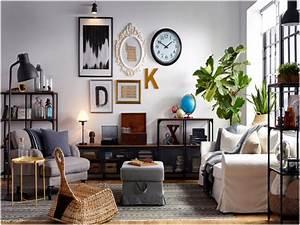 Tapis Chez Ikea : salon meuble ikea salon belle meubles de salon chez ikea beau salon tapis de salon chez ikea ~ Nature-et-papiers.com Idées de Décoration