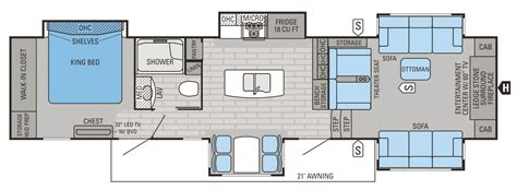 2015 Jayco 5th Wheel Floor Plans by 2015 Jayco 5th Wheel Floor Plans Car Interior Design