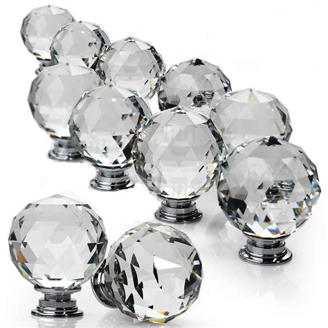 glass drawer knobs 10pcs 25 30 glass door knob cupboard drawer