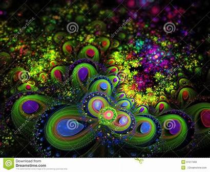 Fractal Use Trance Psychedelic Cd Kunst Abstract