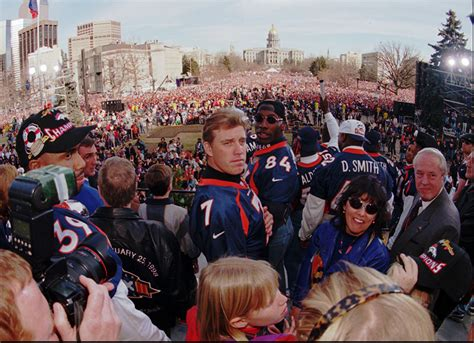 Super Bowl Xxxii Parade Denver Broncos History