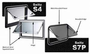 Caravansplus  Identifying Seitz Windows  U0026 Replacement Parts