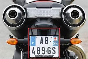 Plaque D Immatriculation Moto : nouvelle taille de plaque d immatriculation obligatoire d s aujourd hui moto revue ~ Medecine-chirurgie-esthetiques.com Avis de Voitures