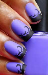 Best purple nail art designs