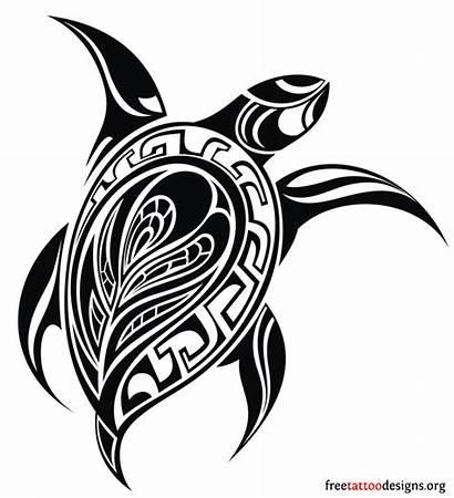 Turtle Hawaiian Tribal Tattoo Ink Tattoos
